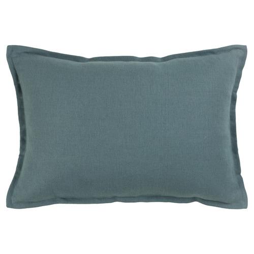 Lido Rectangular Linen-Blend Cushion