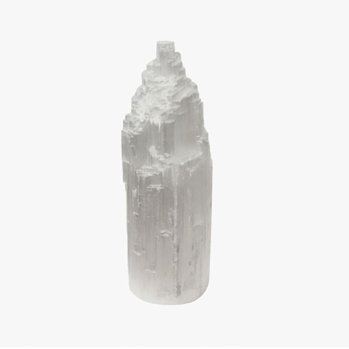 Original Salt Lamps Natural Selenite Lamp With Light Marble Base