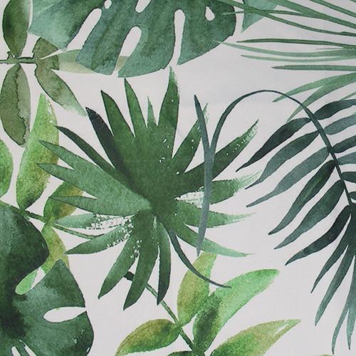 Basford Brands Forest Print Foliage Single Panel Eyelet Curtain