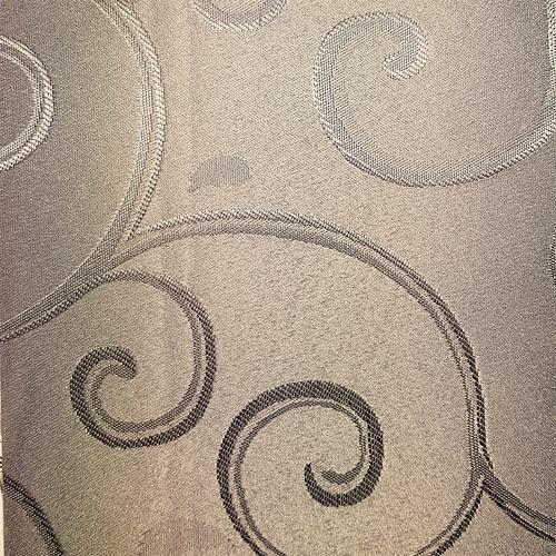 Basford Brands Taupe Abigail Pencil Pleat Curtains