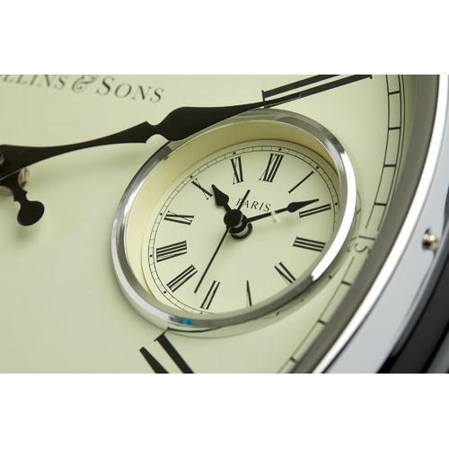 Toki 40cm Collins Metal International Wall Clock