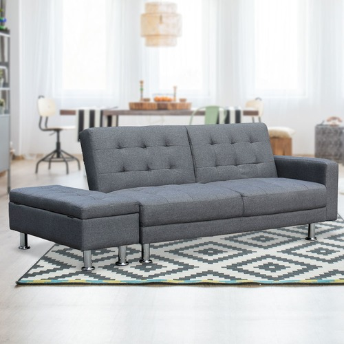 KOutdoorCollective Collection Yorn 3 Seater Sofa Bed with Ottoman