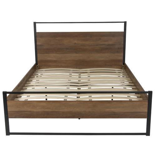 Dark Pine Austin Queen Bed Frame