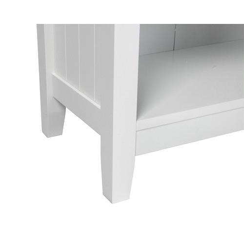Kodu White Glacier 4 Tier Bookcase