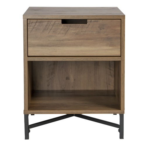 Kodu Industrial Austin Bedside Table