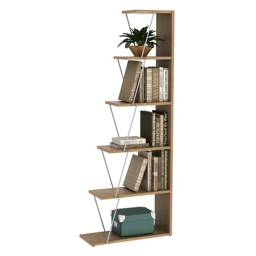 Kodu Damia 5 Tier Ladder Bookshelf