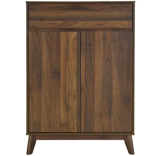Walnut Anderson Rubberwood Cabinet