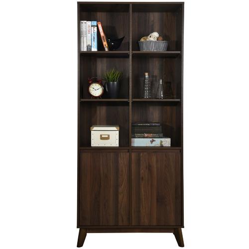 Kodu Walnut Anderson 6 Shelf Bookcase