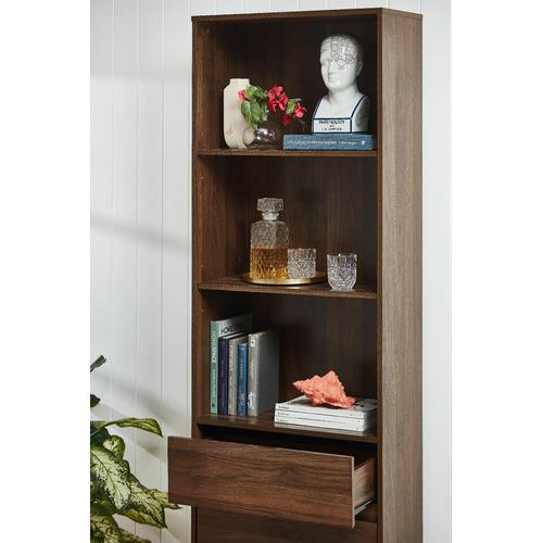 Kodu Walnut Anderson 3 Shelf Bookcase