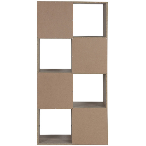 Kodu Black Trim Benson 8 Shelf Organiser