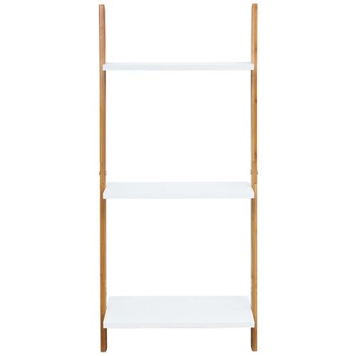 Lizzie 3 Tier Leaning Bamboo Shelf