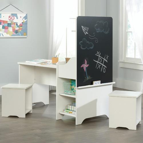 Kids' 3 Piece White Pinwheel Activity Centre