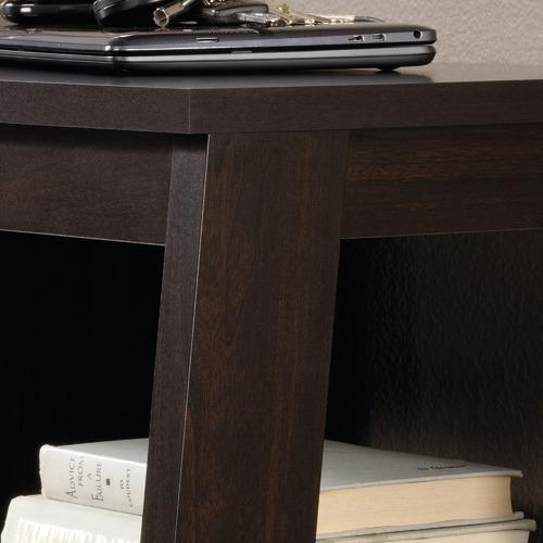 Dark Brown Trestle Console Table