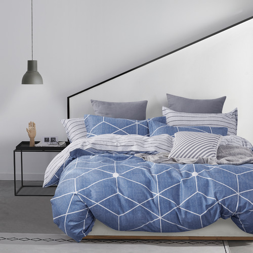 Gioia Casa Nikki Reversible Cotton Quilt Cover Set