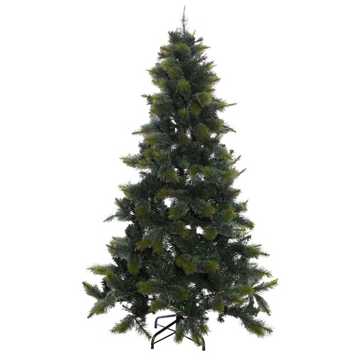 The Christmas Tree Store 198cm Fraser Mix Pine Needle Faux Christmas Tree