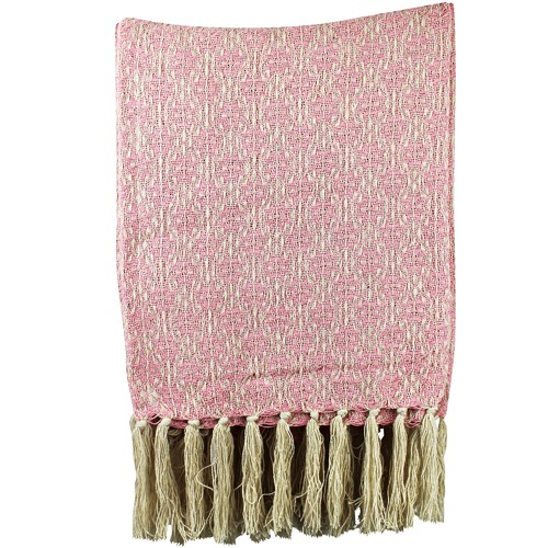 Affiniti Living Frangipani Cotton Throw