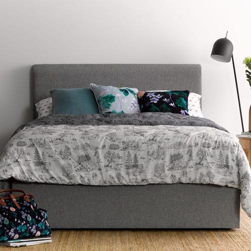 My Choice Beds Light Grey Georgia Bedhead