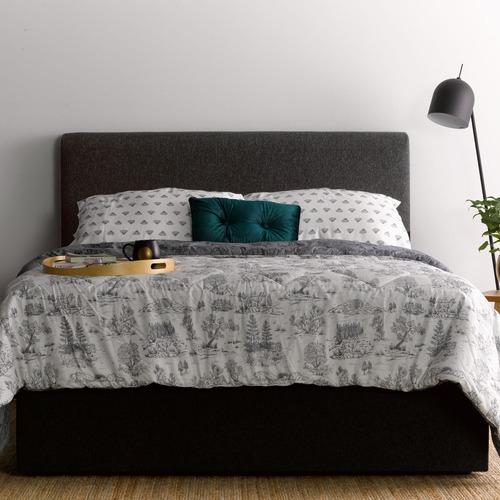 My Choice Beds Charcoal Georgia Bedhead