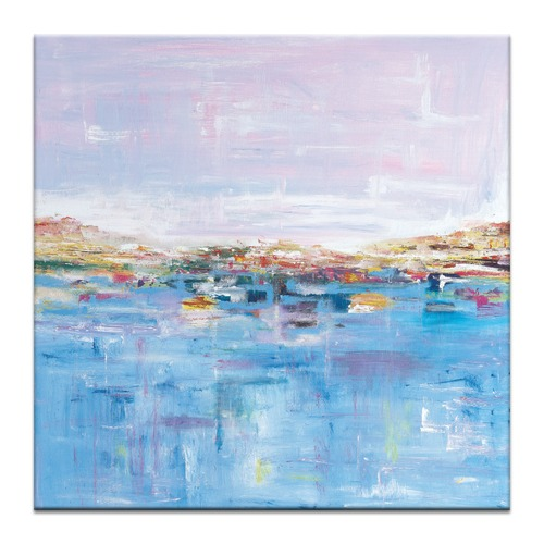 Our Artists' Collection Harbour Abstract Wall Art by Brenda Meynell