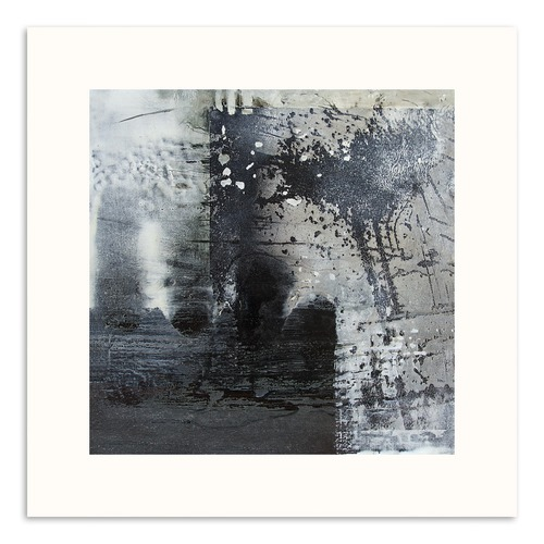Our Artists' Collection Snow Storm Abstract Wall Art