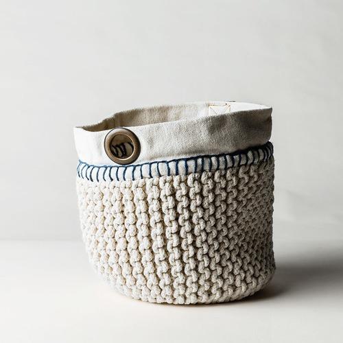 MrJasonGrant Utility Cotton Rope Basket