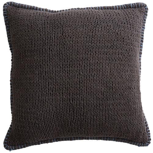 MrJasonGrant Charcoal Sophia Cotton Cushion