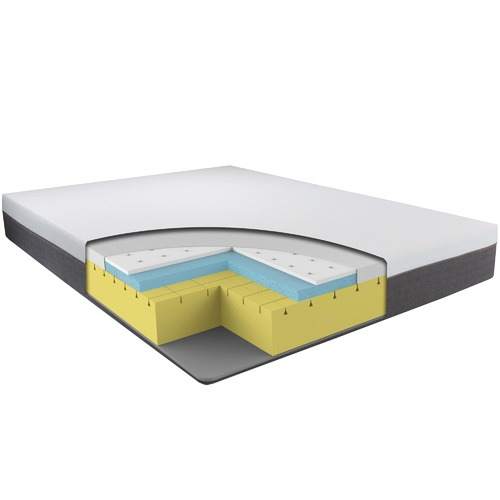 Dreamcom Adjustable Luna Foam Mattress