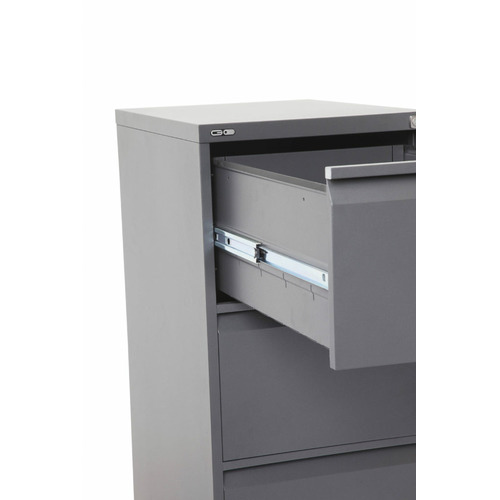 Remo Steel 4 Drawer Filing Cabinet