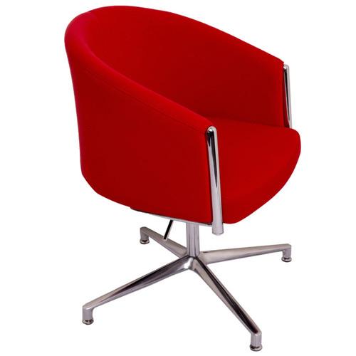 Rein Office Red Splash Club Adjustable Office Chair