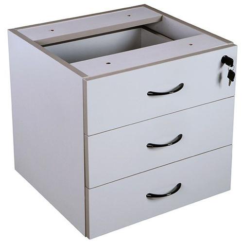 Rein Office Grey Gordana Fixed Under-Desk Pedestal