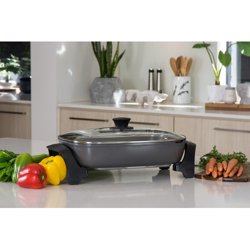 Westinghouse Grey Thick Aluminium Electric Fry Pan