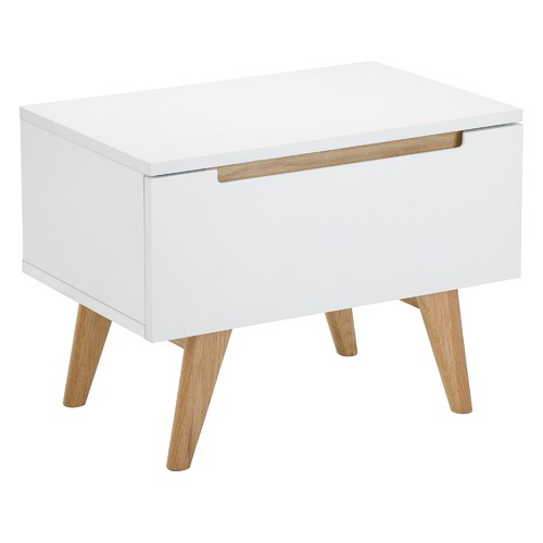 newest de91a 07119 Finn Scandinavian Bedside Table