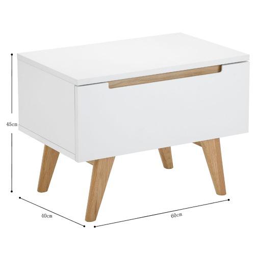 Temple & Webster Finn Scandinavian Bedside Table