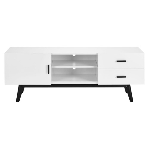 Temple & Webster White 2 Drawer Vasby TV Unit