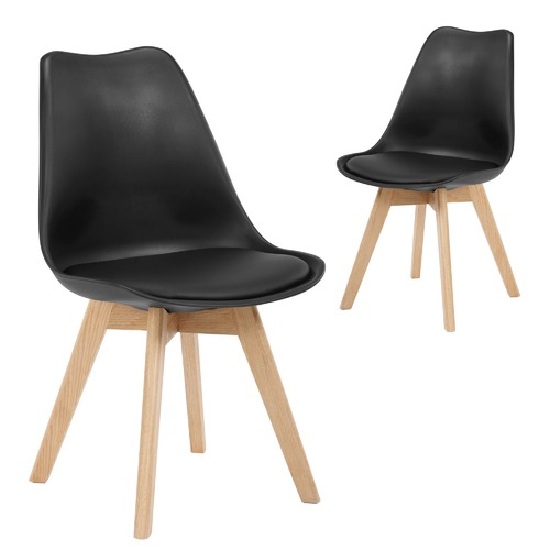 Temple & Webster Natural Oak Nova Dining Chairs