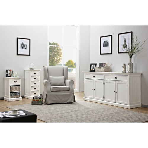 Temple Amp Webster Large White Hamptons Sideboard Buffet
