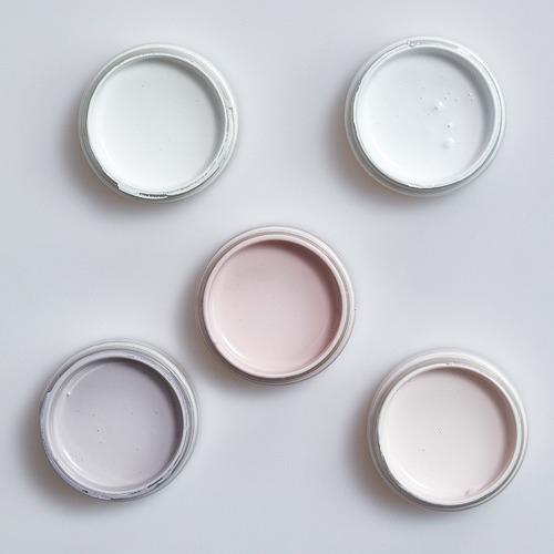 Mix E Interior Paint Sample Pots & Brush