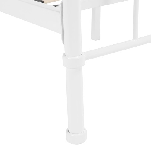 White Bailey Metal Bed Frame