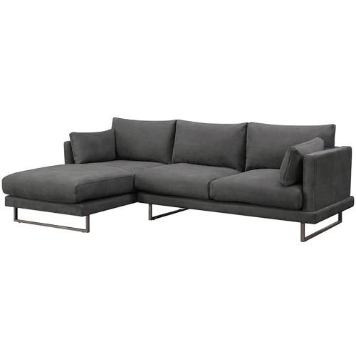 Temple & Webster Zanda L-Shaped Sofa