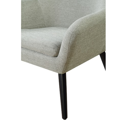 Cement Arm Chairs ~ Cement grey memphis armchair temple webster