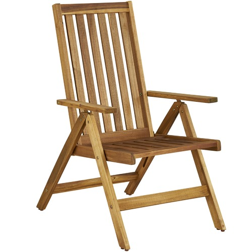 Temple & Webster Palma Majorca Outdoor Timber Folding Chairs