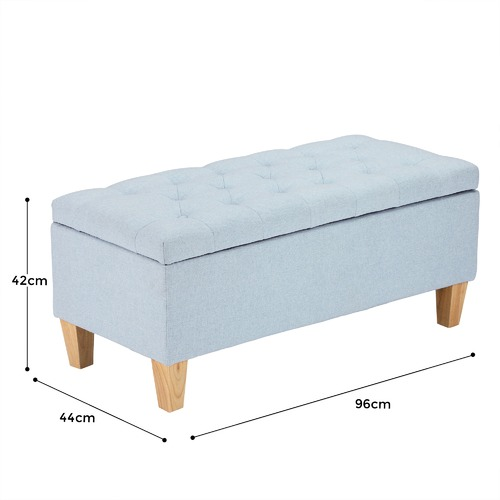 Temple & Webster Sheffield Storage Ottoman