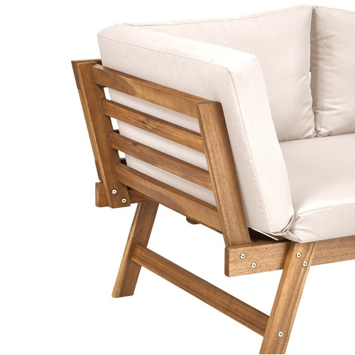 Temple & Webster St Barths Outdoor Day Bed with Cushions