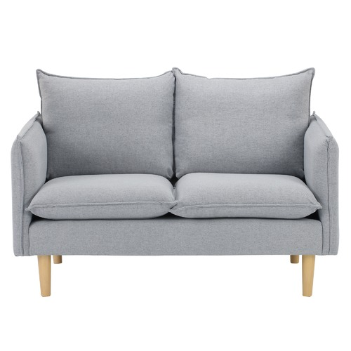 Temple & Webster Moonlight Grey Hampstead 2 Seater Sofa