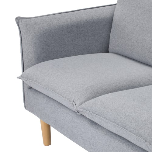 Temple & Webster Moonlight Grey Hampstead 3 Seater Sofa