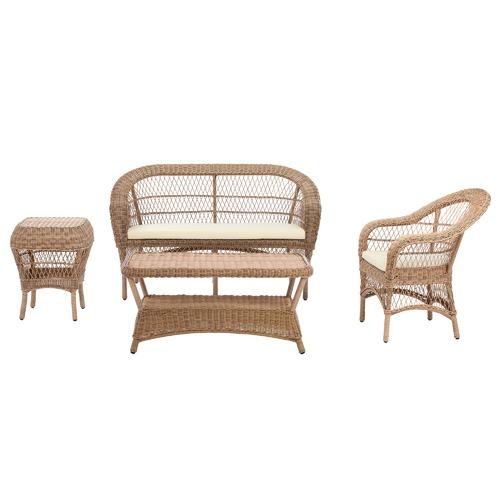 Classic Raffles Outdoor PE Rattan Armchair