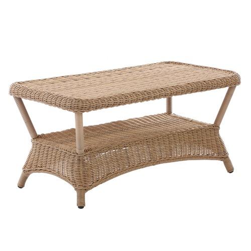 Rattan Coffee Table The Range: Classic Raffles Outdoor PE Rattan Coffee Table