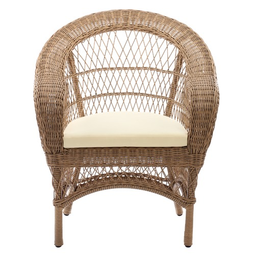 Temple & Webster Raffles Outdoor Side Table & Armchair Set