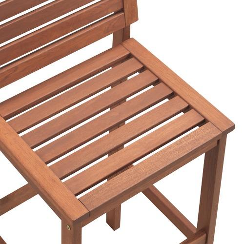 Temple & Webster Parklands Timber Outdoor Barstool