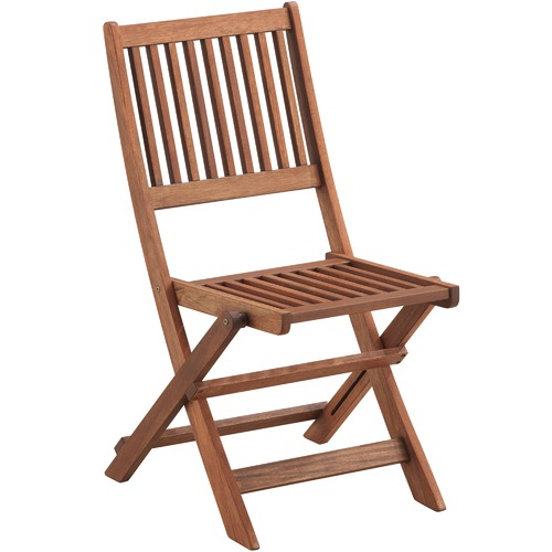 Temple & Webster Parklands Slatted Timber Outdoor Folding Chairs